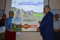 NURETTIN TURSUN - Üniversite Öğrencisi, Kadın Çiftçiler Yarışmasında Birinci Oldu