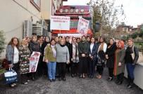 AK Parti Kadın Kolları'nın Yardım Tırı Yola Çıktı