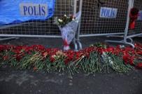 KEZBAN HATEMİ - Terör Saldırısında Hayatını Kaybedenler Karanfillerle Anıldı