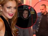 LINDSAY LOHAN - Lindsay Lohan, İstanbul'da Faruk Sabancı ile buluştu