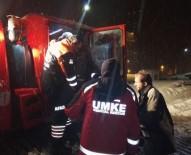 Karda Mahsur Kalan Hastanın Yardımına AFAD Ve UMKE Yetişti