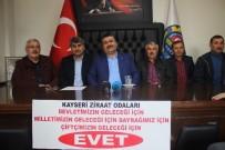 Kayseri'de Ziraat Odaları Referandumda 'Evet' Oyunu Vereceğini Açıkladı