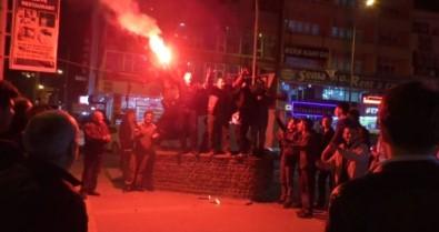 Kars36 Spor Tur Atladı, Taraftarlar Sokağa Döküldü