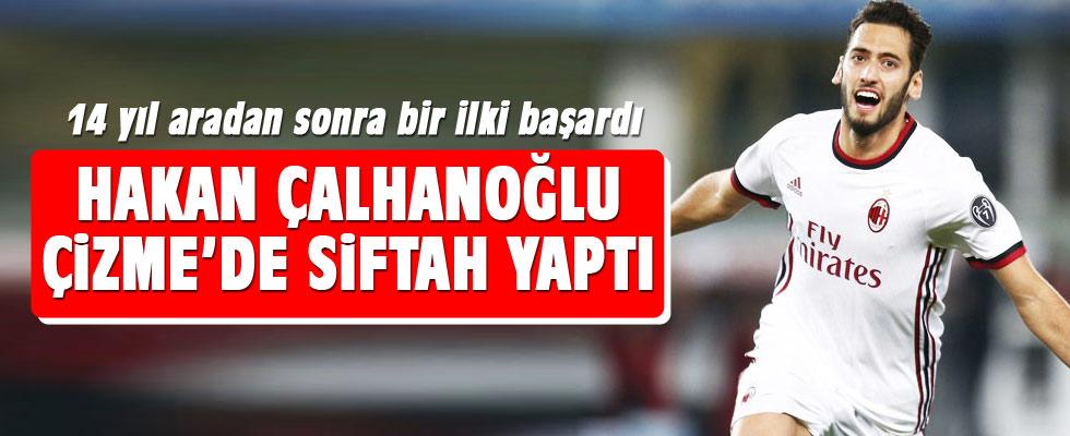 Hakan Çalhanoğlu 14 yıl sonra ilki başardı!