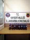Kayseri'de 12 Litre Sahte Boğma Rakı Ele Geçirildi