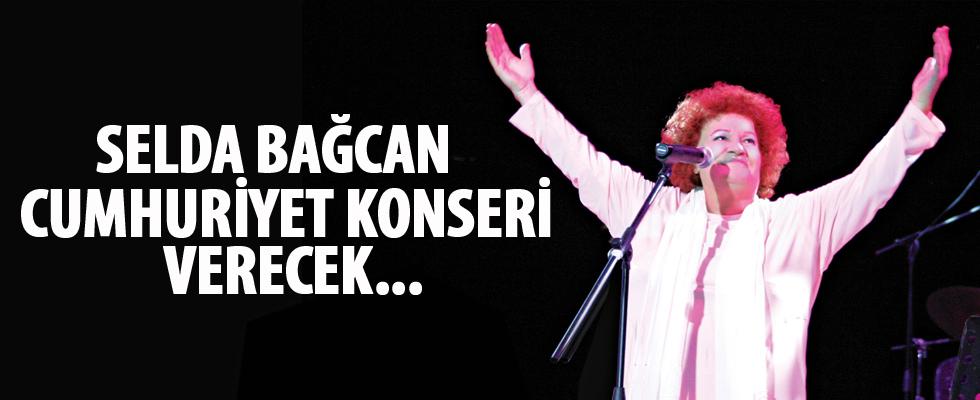 Söke'de Selda Bağcan Cumhuriyet konseri verecek