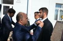 Isparta'da Gazilerin Rozeti Törenle Takıldı
