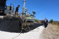 Isparta'da 2018 Hedefi 210 Kilometre Sıcak Asfalt