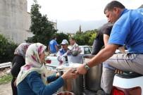 MÜNİR KARAOĞLU - Antalya Büyükşehir Afet Bölgesinde