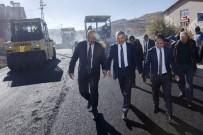 Başkan Çelik, Özvatan'da İncelemelerde Bulundu