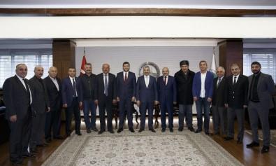 Başkan Çelik, MHP İl Başkanı Ersoy Ve MHP'nin Meclis Grubu İle Görüştü