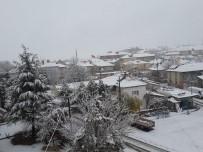 Felahiye'de Yoğun Kar Yağışı Etkili Oldu
