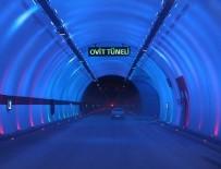 ALI BILGIN - Ovit tüneli kontrollü olarak ulaşıma açıldı