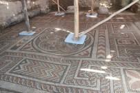 (Özel) Konya'da Roma Dönemine Ait Antik Spor Salonunun Üstü Kapatılarak Koruma Altına Aldı