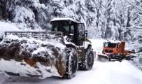 Artvin'de Kar Nedeniyle 21 Köy Yolu Ulaşıma Kapalı Bulunuyor