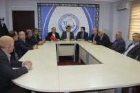 KEMAL ÇETİN - Genel Başkan Çetin Toplu Taşıma Kooperatifleri Başkanlarıyla Bir Araya Geldi