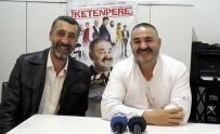 ŞAFAK SEZER - 'Ketenpere' Filminin Tanıtımında 'Kolpaçino' Müjdesi