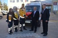 Sağlık Bakanlığından Gönderilen 3 Ambulans İlçelere Teslim Edildi