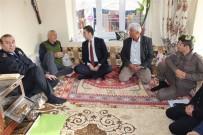 Şarkikaraağaç Kaymakamı Kırçuval, Muhtar Ve Vatandaşlarla Buluştu