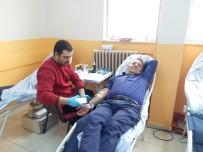 Günyüzü'nden Kızılay'a Kan Bağışı