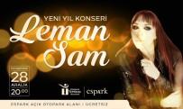 LEMAN SAM - Eskişehir'de Leman Sam Rüzgarı Esecek