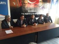 AK Parti Milletvekili Açıkgöz, Kozaklı İlçe Teşkilatını Ziyaret Etti