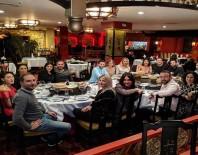 BURCU BİRİCİK - Sürpriz Partiye Ünlü İsimler Katıldı