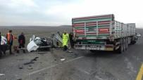 Ağrı'da Feci Kaza Açıklaması 1'İ Bebek 4 Ölü, 1 Yaralı