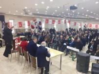 HÜSNÜ BOZKURT - CHP Niğde İl Başkanı Erhan Adem Güven Tazeledi