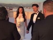 ALMEDA ABAZİ - Tolgahan Sayışman ile Almeda Abazi evlendi