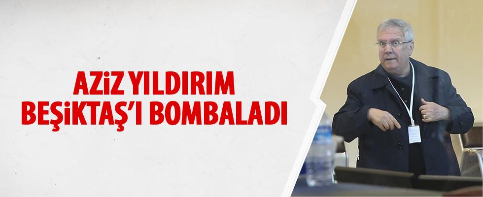 Aziz Yıldırım'dan Beşiktaş'a sert sözler