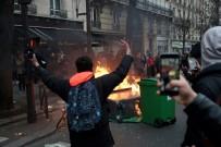 UYUŞTURUCU BASKINI - Fransa'da protestolar büyüyor
