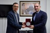 Kaymakam Yılmaz'dan Rektör Yardımcısı Prof. Dr. Özden'e Ziyaret