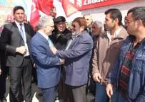 Bakan Ağbal Konya'da Referandum Çalışmalarına Katıldı