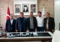 Beyder Yöneticileri Başkan Alp'i Ziyaret Etti