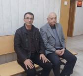 KORKUT EKEN - Korkut Eken Alaattin Çakıcı'yı Ziyaret İçin Hastaneye Geldi