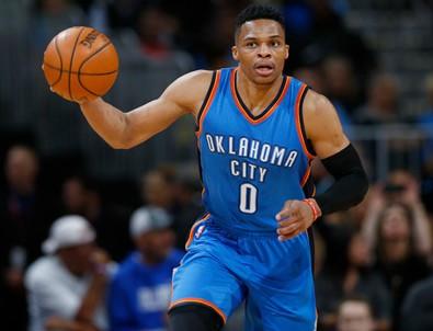 Westbrook'tan 57 sayılık 'Triple Double'