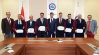 Eskişehir Milli Eğitim Müdürleri ESOGÜ'de Mezuniyet Cübbesi Giydi