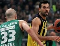 EFES PILSEN - Fenerbahçe Yunanistan'da desten yazdı