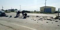 MUSTAFA UYGUN - Antalya'da Trafik Kazası Açıklaması 2 Yaralı