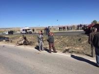 Sarıoğlan'da Trafik Kazası Açıklaması 1 Ölü, 1 Yaralı