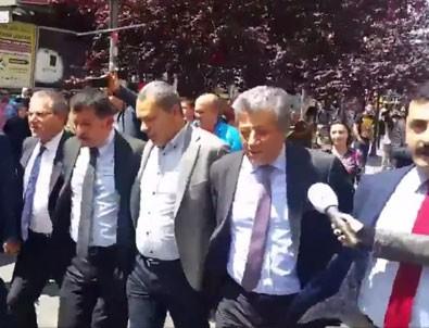 CHP'li vekillerden volta atma eylemi