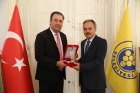 MİLLETVEKİLİ DANIŞMANI - Başkan Piriştina'ya 'İz Bırakanlar' Ödülü