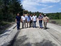 Yenice'de Köy Yolları Asfaltlanıyor