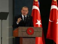 Cumhurbaşkanı Erdoğan şehit komutanın yazdığı şiiri okudu