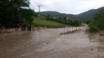 Kastamonu'da Sağanak Yağış Tarım Arazilerine Zarar Verdi