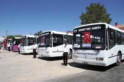 Van Büyükşehir Belediyesi Yeni Araçlarını Tanıttı