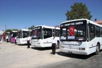 KÖRÜKLÜ OTOBÜS - Van Büyükşehir Belediyesi Yeni Araçlarını Tanıttı