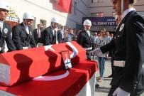 Şehit Polis Memuru İçin Konya Emniyet Müdürlüğünde Tören Düzenlendi