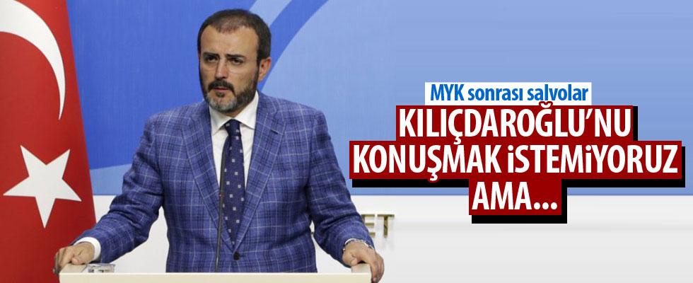 Mahir Ünal'dan Kılıçdaroğlu'na cevap